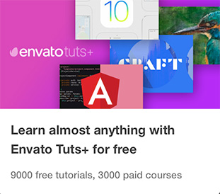 Free How-To Tutorials & Online Courses by Envato Tuts+