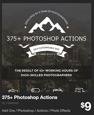 375+ Photoshop Actions by Helanaa | GraphicRiver