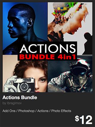 Actions Bundle by Ibragimov   GraphicRiver