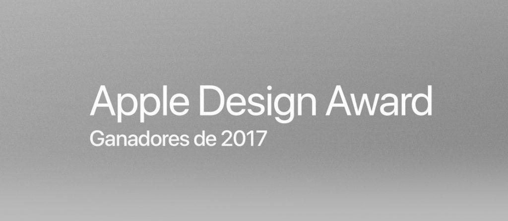 Apps ganadoras del Apple design award 2017.