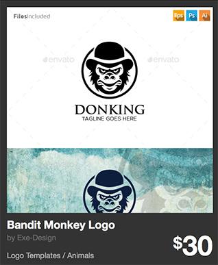 Bandit Monkey Logo