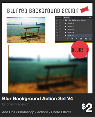 Blur Background Action Set V4 by onesmfadesign | GraphicRiver