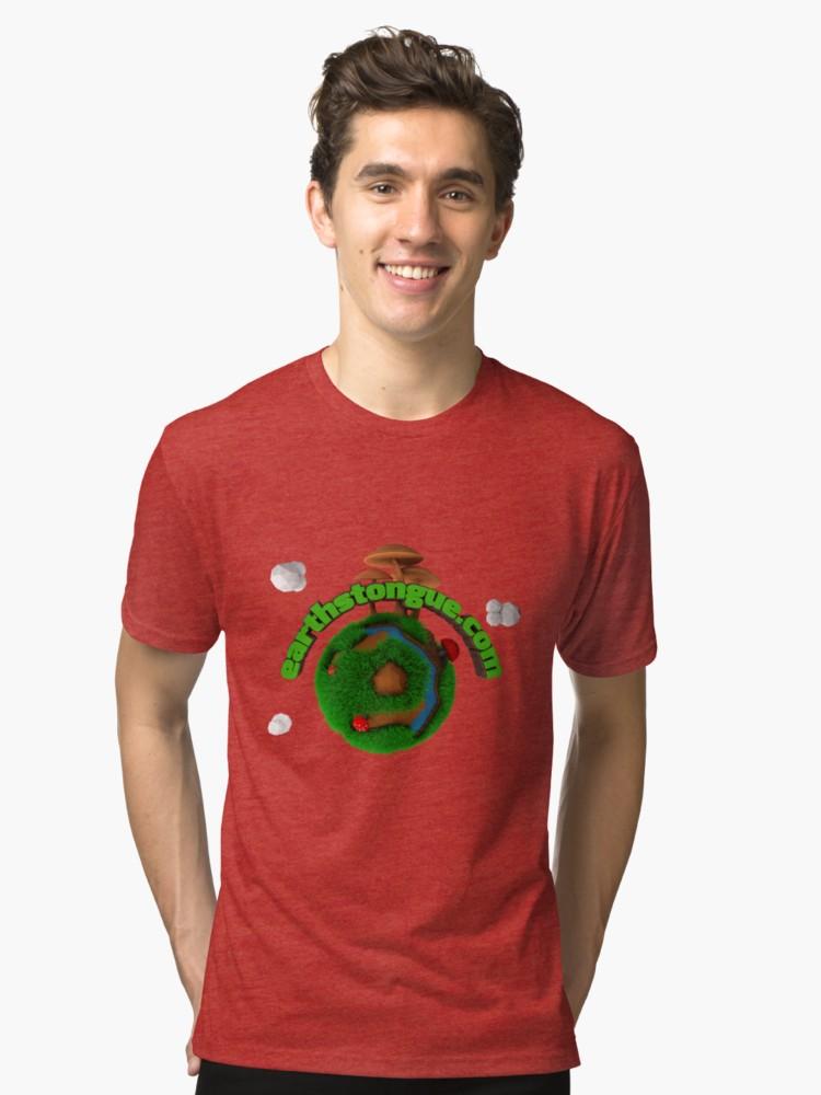 Camisetas de tejido mixto