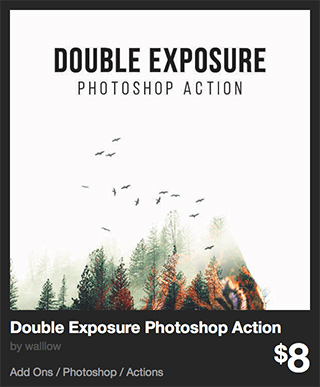 Double Exposure Photoshop Action by walllow | GraphicRiver