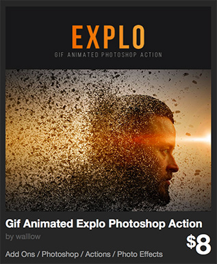 Gif Animated Explo Photoshop Action by walllow   GraphicRiver