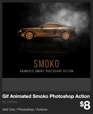 Gif Animated Smoko Photoshop Action by walllow   GraphicRiver