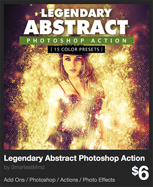 Legendary Abstract Photoshop Action by SmartestMind | GraphicRiver