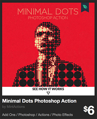 Minimal Dots Photoshop Action by MintActions   GraphicRiver