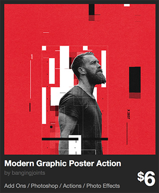 Modern Graphic Poster Action by bangingjoints | GraphicRiver