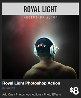 Royal Light Photoshop Action by walllow | GraphicRiver