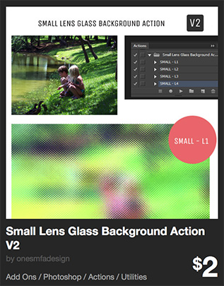 Small Lens Glass Background Action V2 by onesmfadesign   GraphicRiver