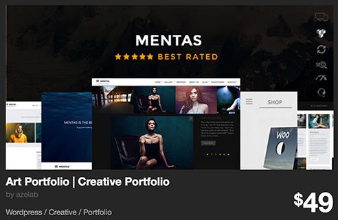 Art Portfolio | Creative Portfolio by azelab | ThemeForest