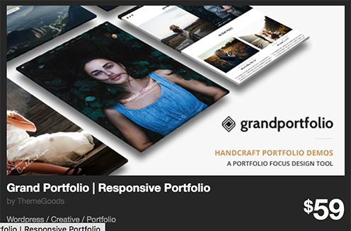 Grand Portfolio | Responsive Portfolio by ThemeGoods | ThemeForest