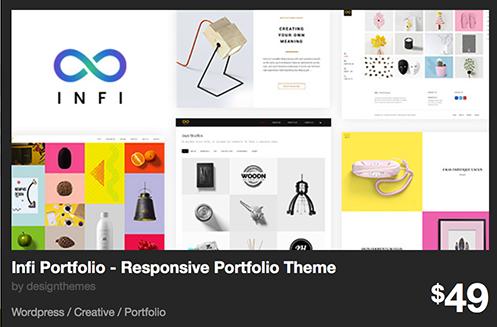 Infi Portfolio - Responsive Portfolio Theme by designthemes | ThemeForest