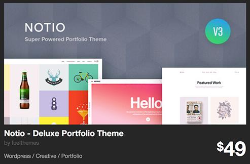 Notio - Deluxe Portfolio Theme by fuelthemes | ThemeForest