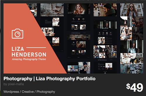 Photography | Liza Photography Portfolio Preview - ThemeForest