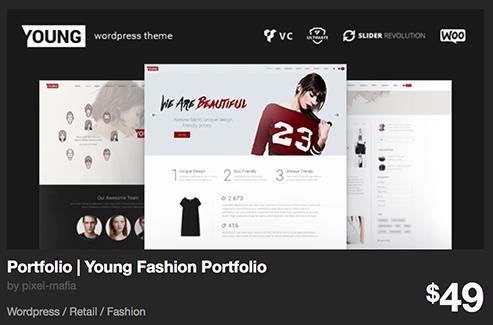 Portfolio | Young Fashion Portfolio by pixel-mafia | ThemeForest