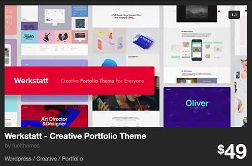 Werkstatt - Creative Portfolio Theme by fuelthemes