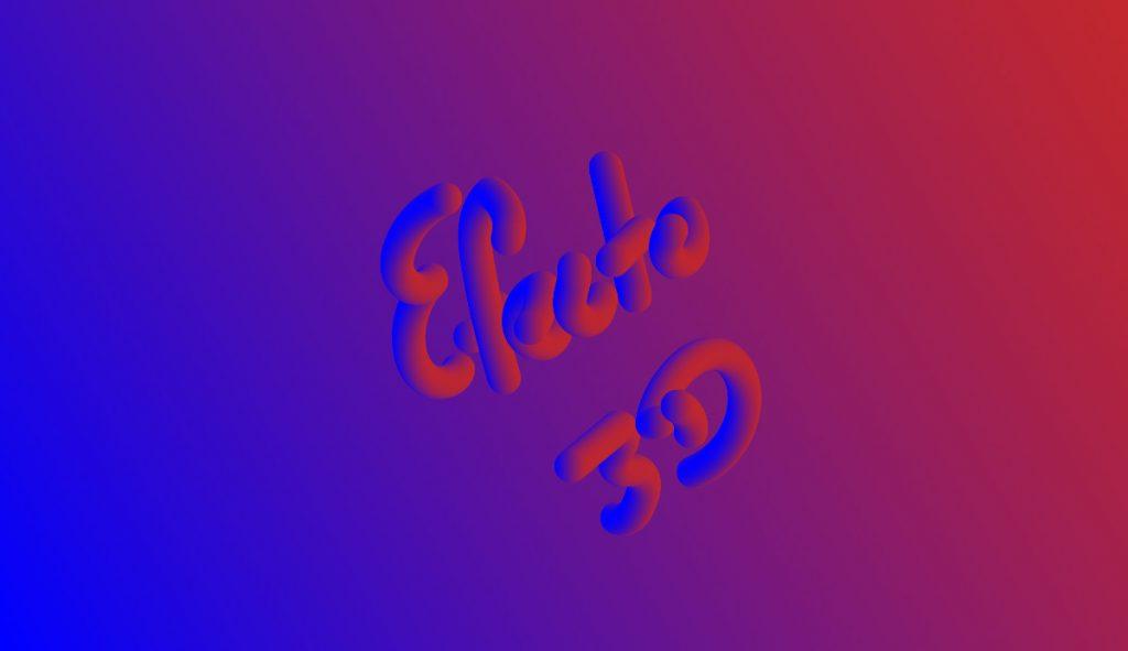 efecto 3D