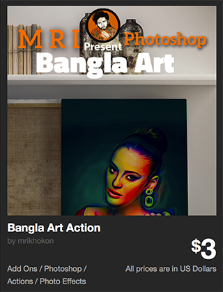 Bangla Art Action by mrikhokon | GraphicRiver