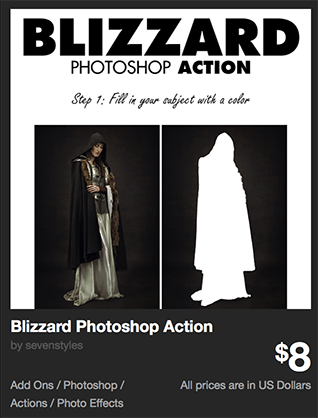 Blizzard Photoshop Action by sevenstyles | GraphicRiver