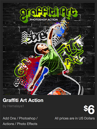Graffiti Art Action by Hemalaya1 | GraphicRiver