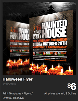 Halloween Flyer by EAMejia | GraphicRiver