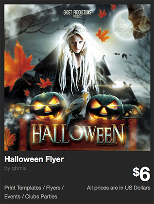 Halloween Flyer by qbmix | GraphicRiver