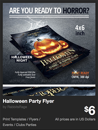 Halloween Party Flyer by RabbitsRage | GraphicRiver