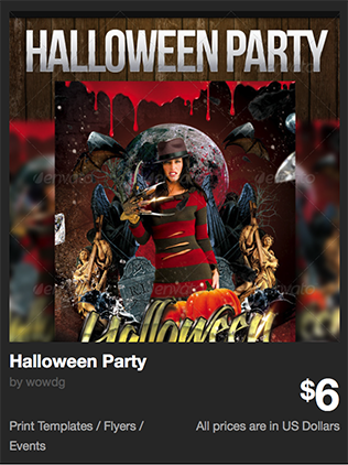Halloween Party by wowdg | GraphicRiver