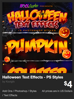 Halloween Text Effects - PS Styles by Koolgfx | GraphicRiver