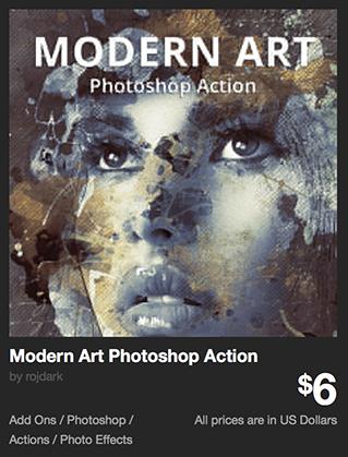 Modern Art Photoshop Action by rojdark | GraphicRiver