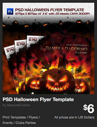 PSD Halloween Flyer Template by MaxwellCoelho | GraphicRiver
