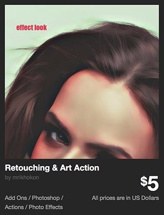 Retouching & Art Action by mrikhokon | GraphicRiver