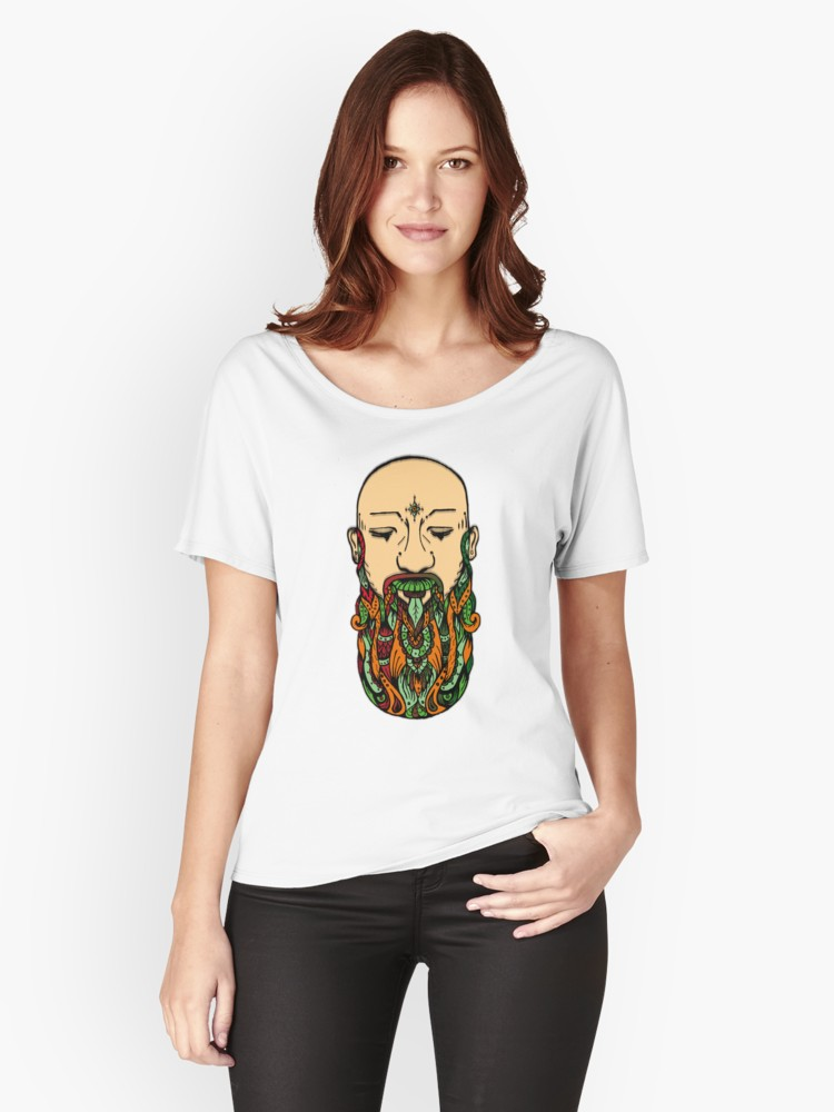 Camisetas anchas para mujer - Redbubble clothing art print