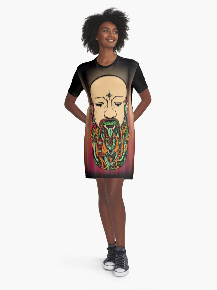 Vestidos camiseta - Redbubble clothing art print