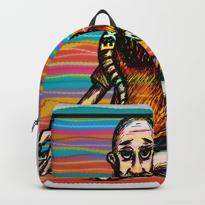 Bearded and ex poison snake Backpack by angeldecuir | Society6