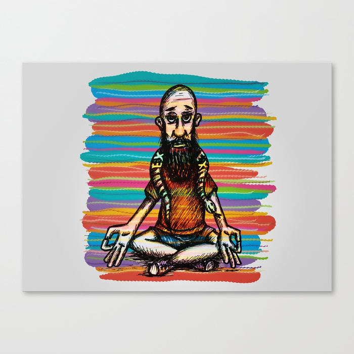 Bearded and ex poison snake Canvas Print by angeldecuir | Society6