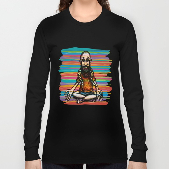 Bearded and ex poison snake Long Sleeve T-shirt by angeldecuir | Society6