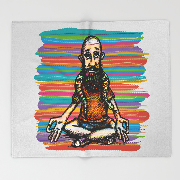 Bearded and ex poison snake Throw Blanket by angeldecuir | Society6