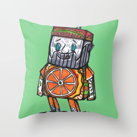 "THROW PILLOW COVER (16"" X 16"") WITH PILLOW INSERT INDOOR - society6"