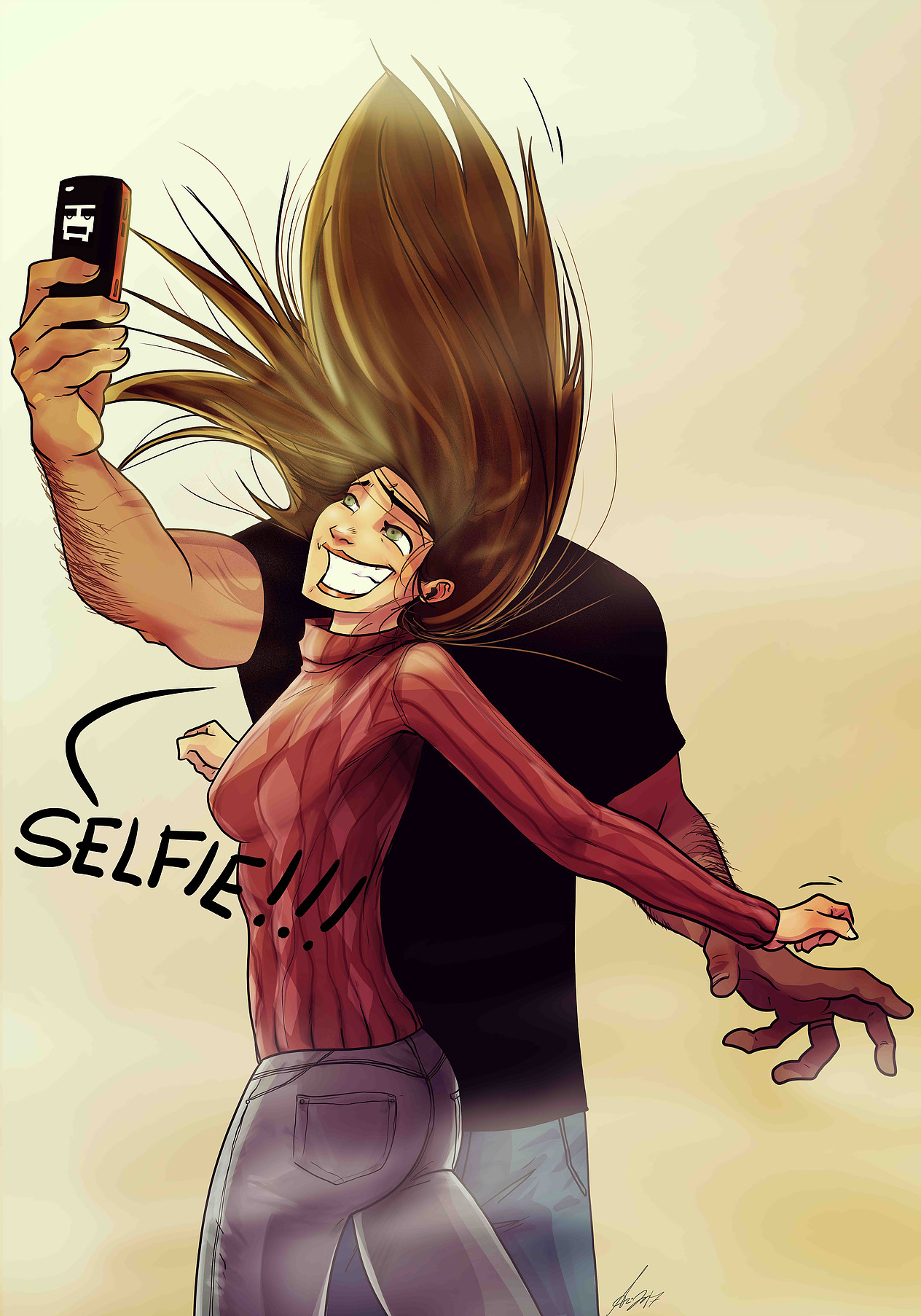 Lets take a selfie