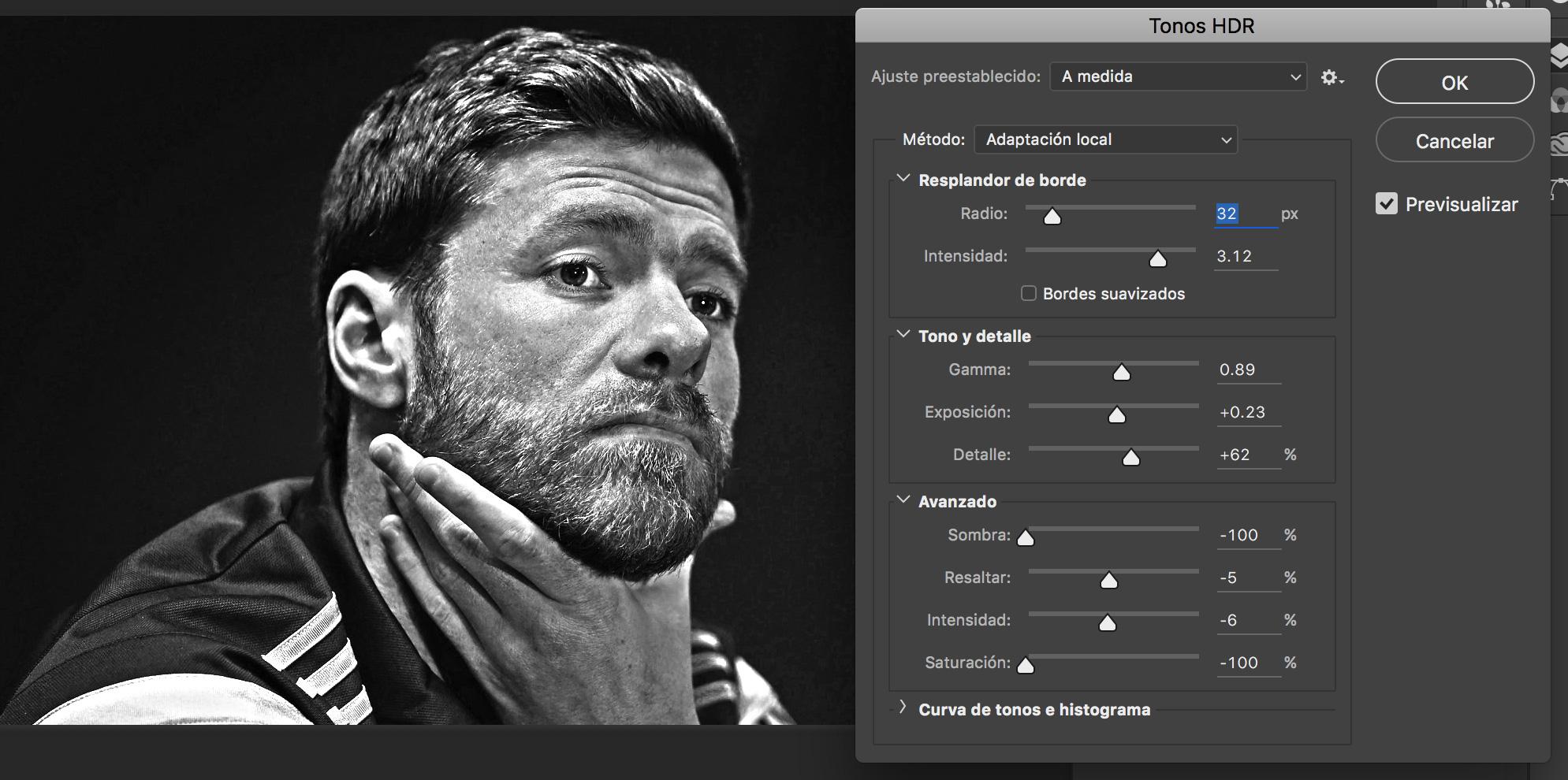 Tonos HDR desde el Photoshop