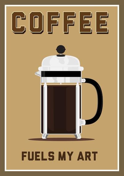 Coffee fuels my art
