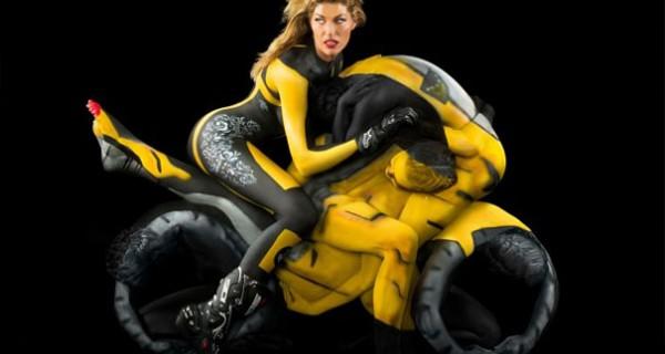 AMAZING-ART-Human-Motorcycles-Body-paint