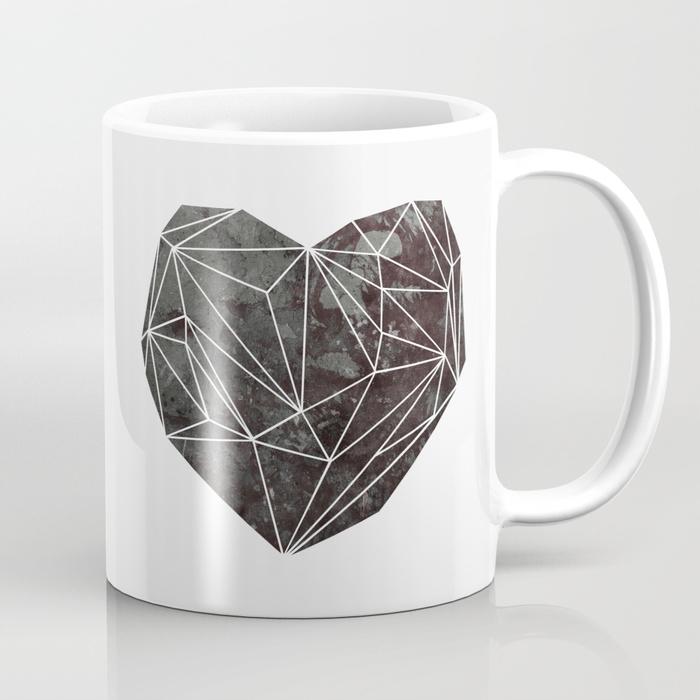 Heart Graphic 4 Coffee Mug by maboe | Society6