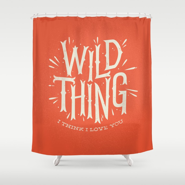 Wild Thing Shower Curtain by wharton | Society6