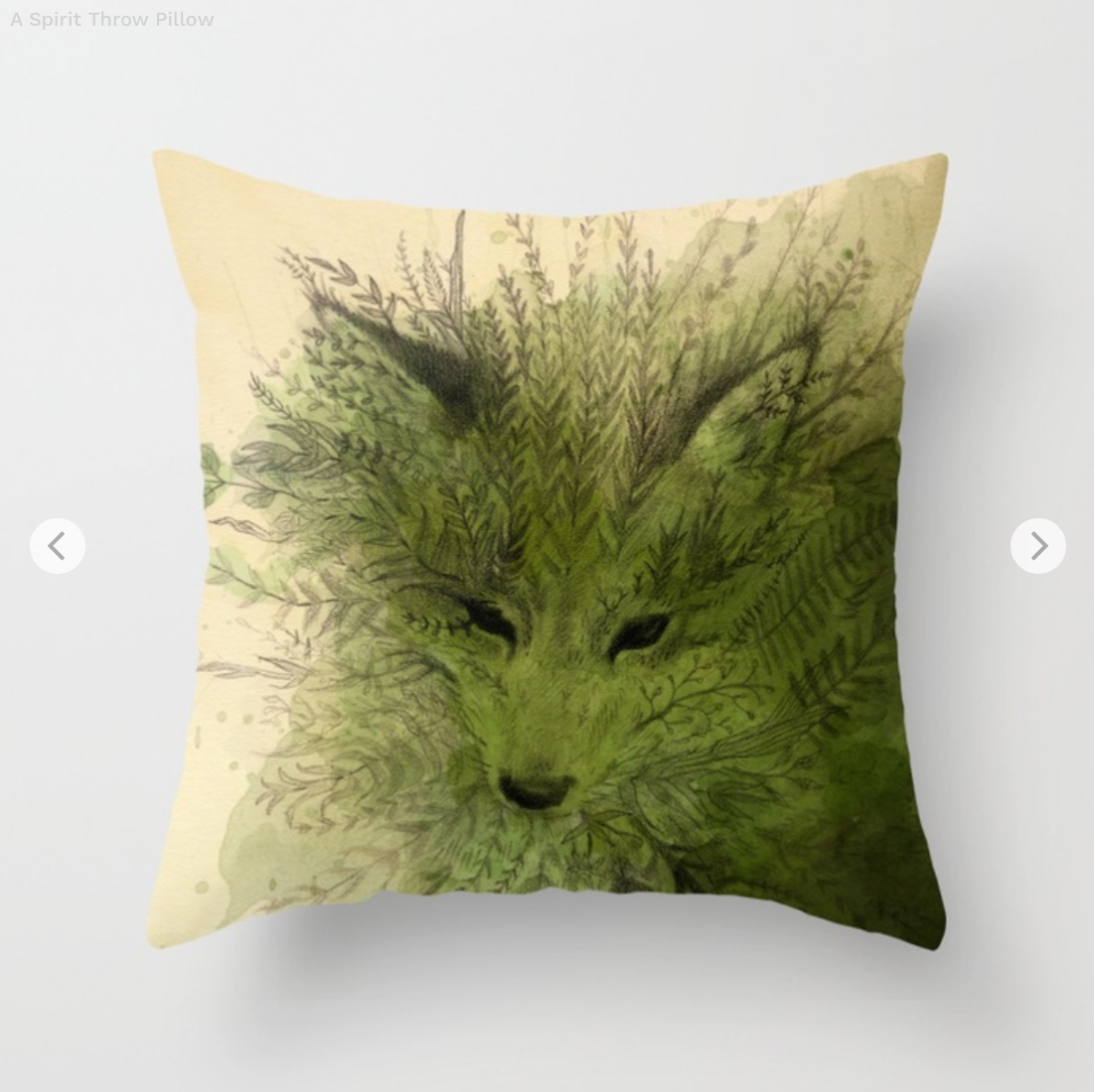 A Spirit Throw Pillow by leslieevans   Society6