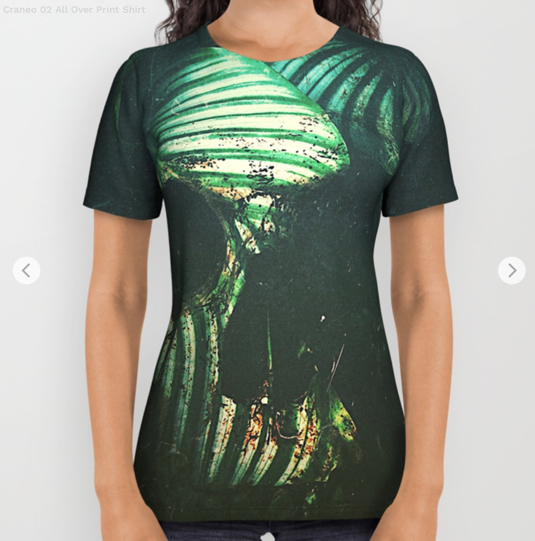 Craneo 02 All Over Print Shirt by seamless   Society6