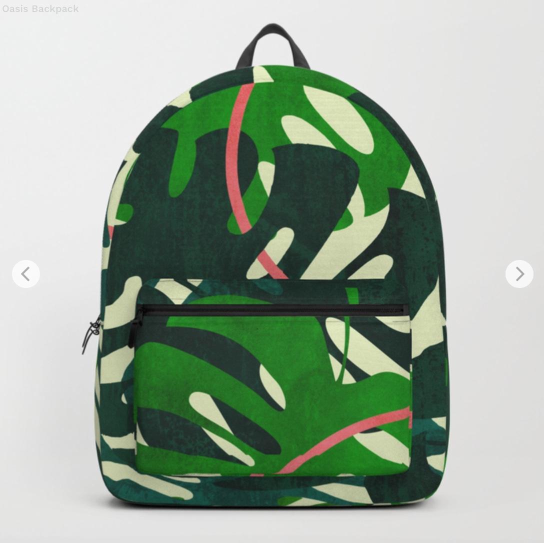 Oasis Backpack by matadesign   Society6